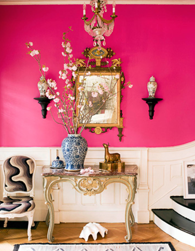 Hot Pink Living Room Bpf Your Reaction To Hot Pink A Punch Me In The Face Or B I Want Hot Pink Walls Pink Room Pink Walls