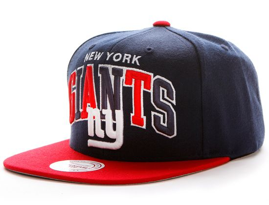 "MITCHELL   NESS x NFL ""New York Giants Tri-Pop"" Snapback Cap ... cf5093668"