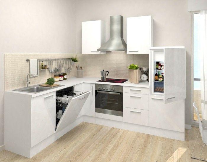 Küche in LForm der Allrounder in puncto moderne