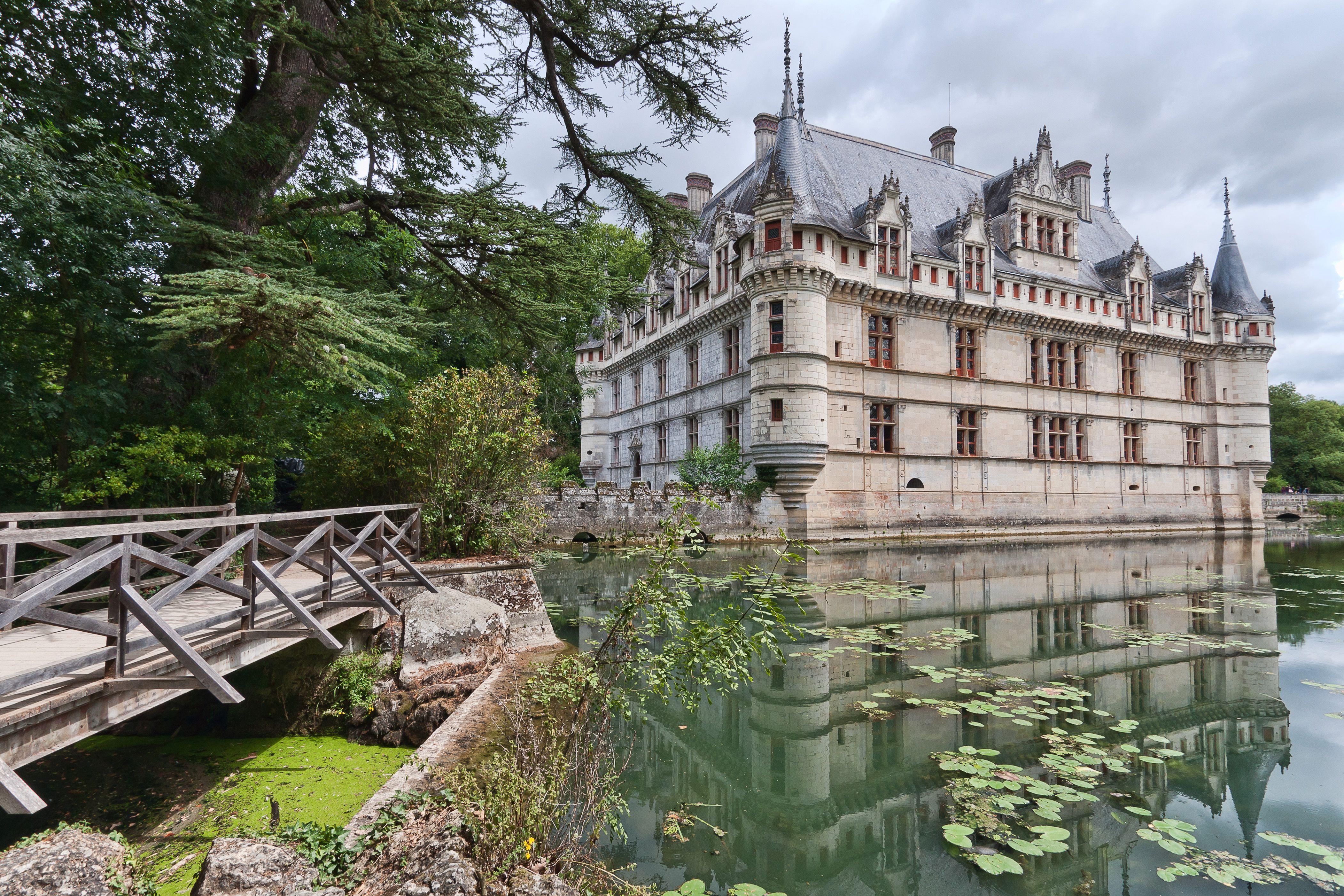 Ch¢teau d Azay le Rideau Val de Loire CHATTEAUX