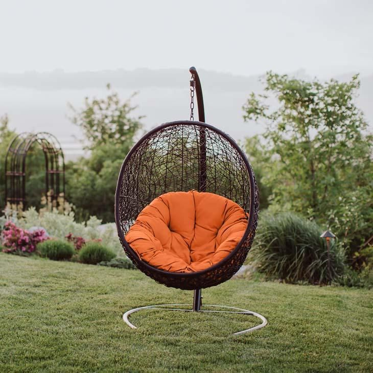 Inception Swing Lounge Chair With Images Swinging Chair Patio