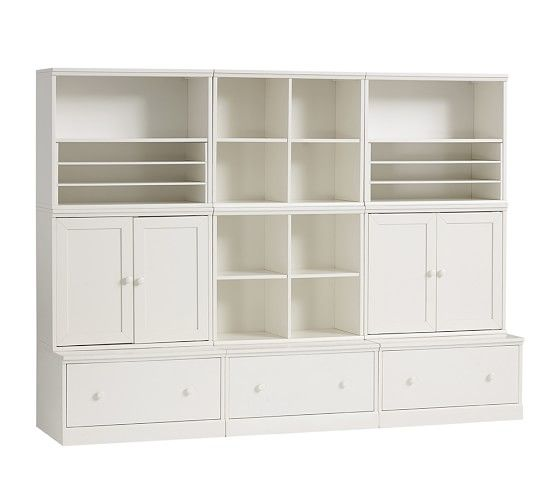 Cameron Creativity Storage System With Drawer Bases En