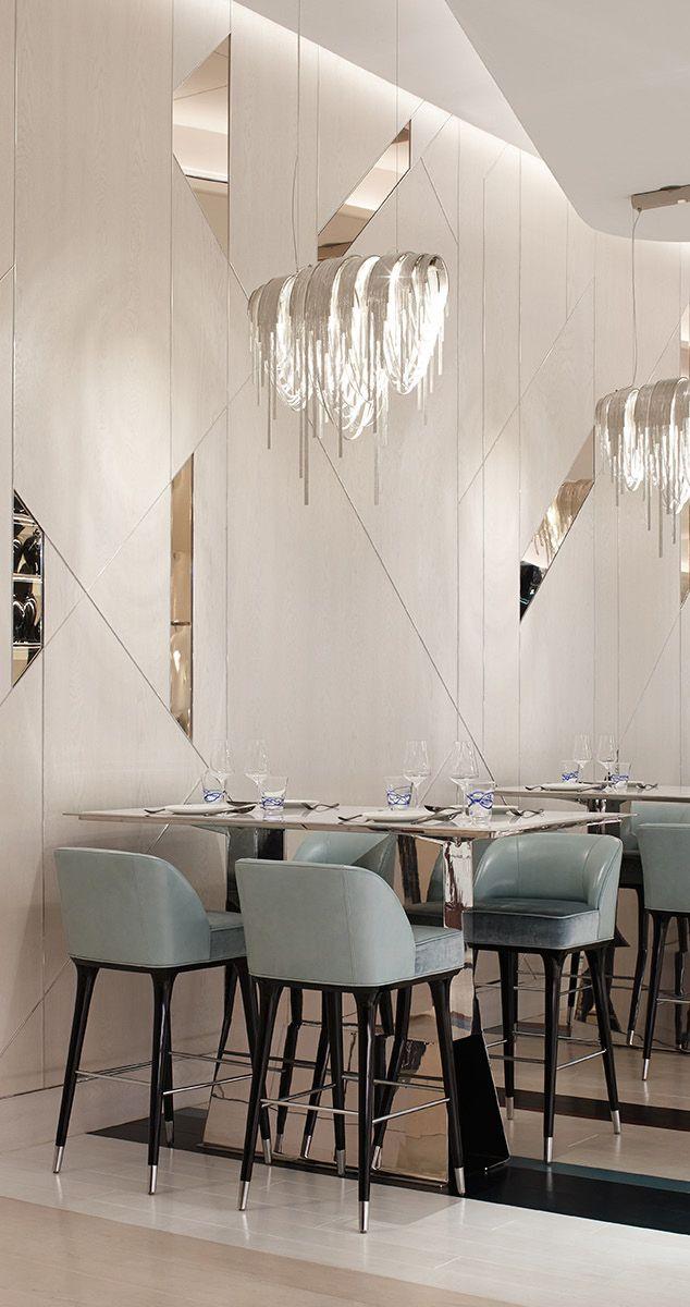 Bellagio Resort Casino Las Vegas Discover The Best Hotels And The Best Resorts With Contemporary Interior Design 5 Sta Dizajn Interera Restorana