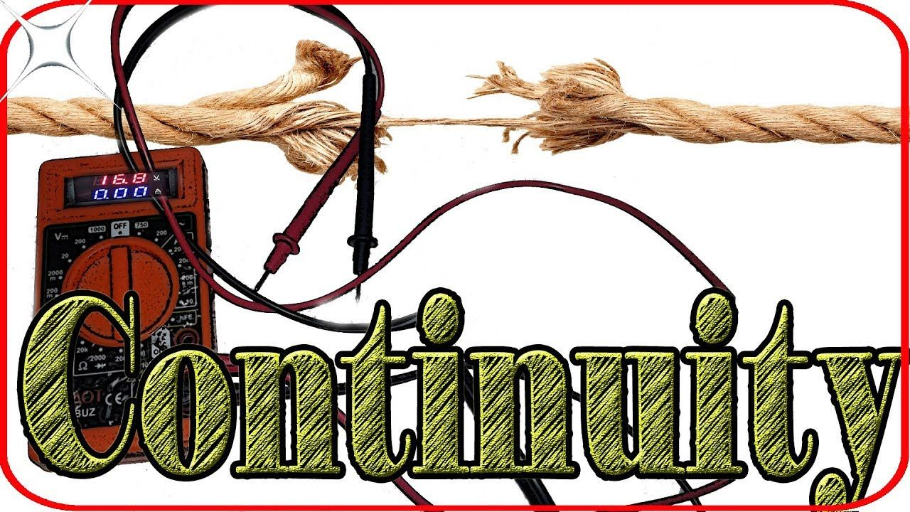 How to check continuity with digital multimeter for