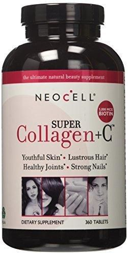 Neocell Super Collagen Type I Iii Vitamin C 360 Tablets Neocell Super Collagen Collagen Collagen Supplements