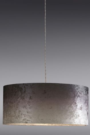 Buy Large Grey Ombre Velvet Easy Fit Shade From The Next Uk Online