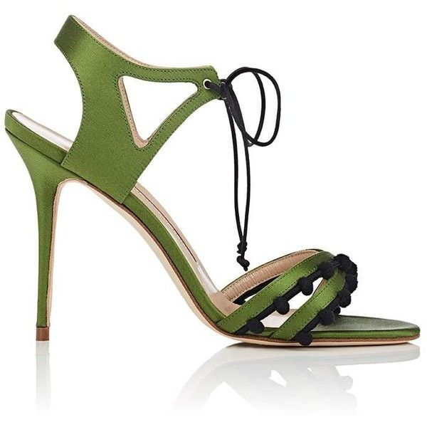 Satin ESPARRA Sandals Spring/summer Manolo Blahnik