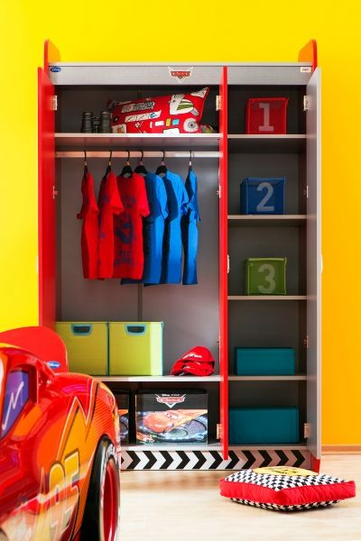 Kleiderschrank Cars, 127 x 210 cm | Kinderzimmer Cars | Pinterest | Cars
