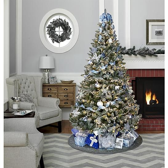 Jaclyn Smith Midnight Clear Christmas Tree Trim Kit - Jaclyn Smith Midnight Clear Christmas Tree Trim Kit Kmart Themed
