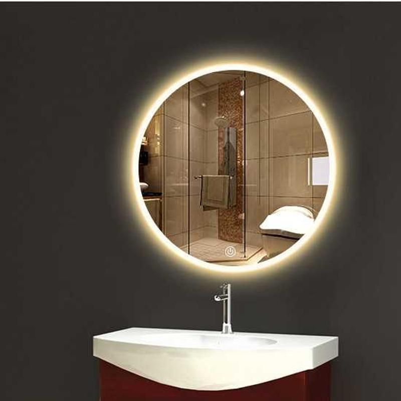 Bathroom Wall Sconce Round Dressing Room Led Mirror Light Bathroom Mirror Light Mak Bathroom Mirror Lights Round Mirror Bathroom Lighted Bathroom Mirror