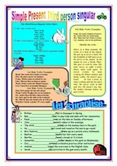 ASKING AND ANSWERING QUESTIONS WITH DO / DOES / DON'T & DOESN'T worksheet - Free ESL printable worksheets made by teachers