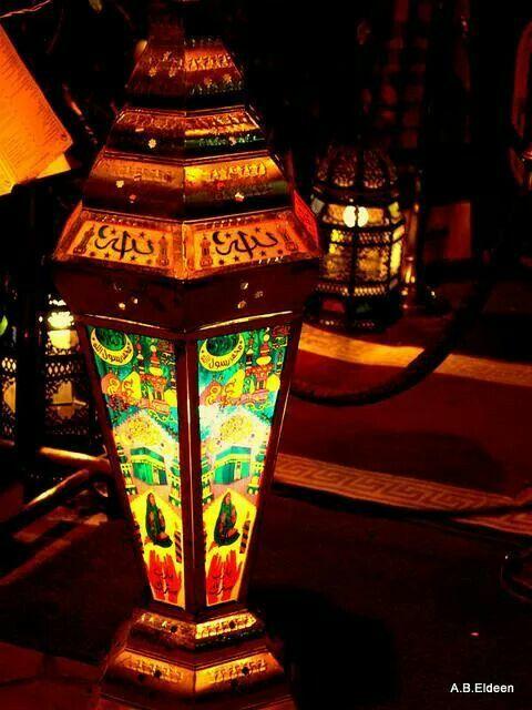 ألوان رمضانية Ramadan Kareem Decoration Candle Lanterns Lanterns