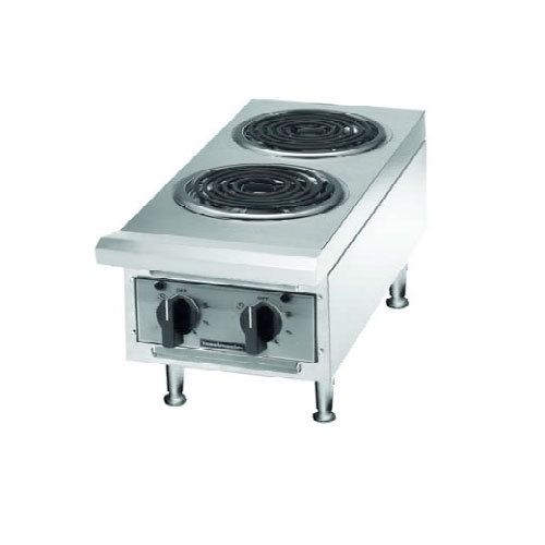 Two Burner Countertop Commercial Electric Hot Plate Coil Elements