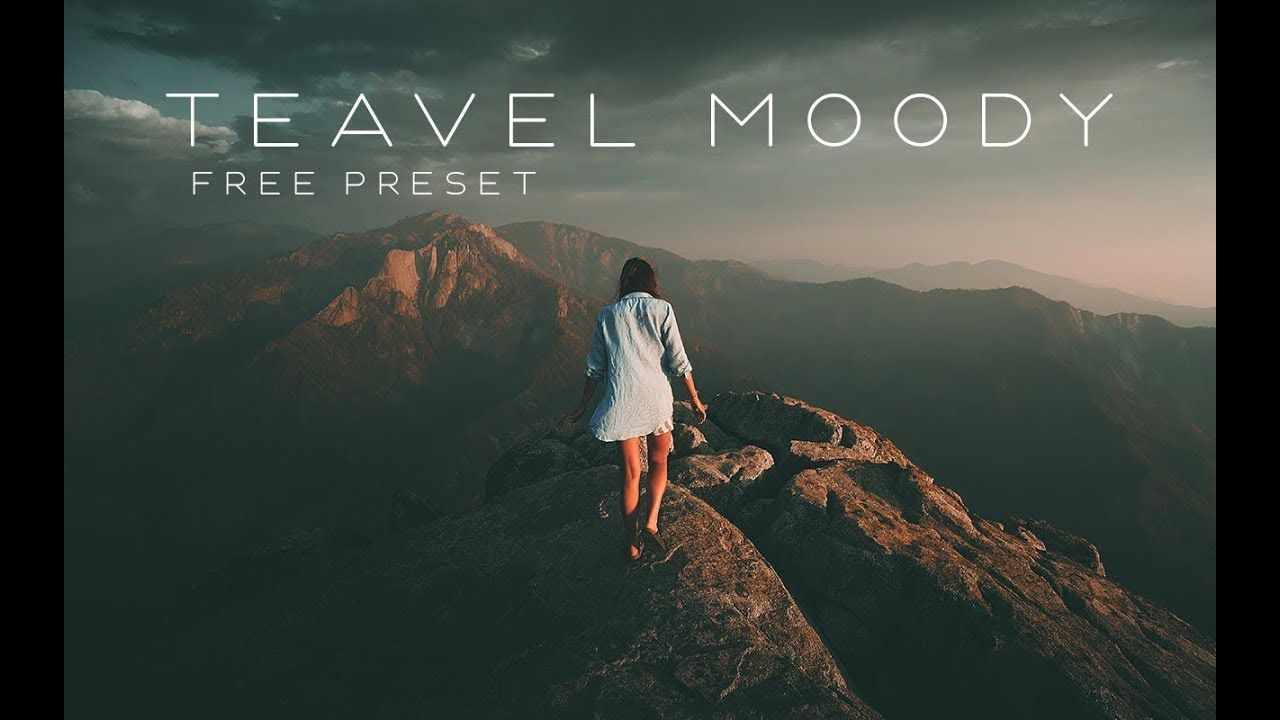 Get Travel Moody PRESET in Lightroom | FREE PRESET #9