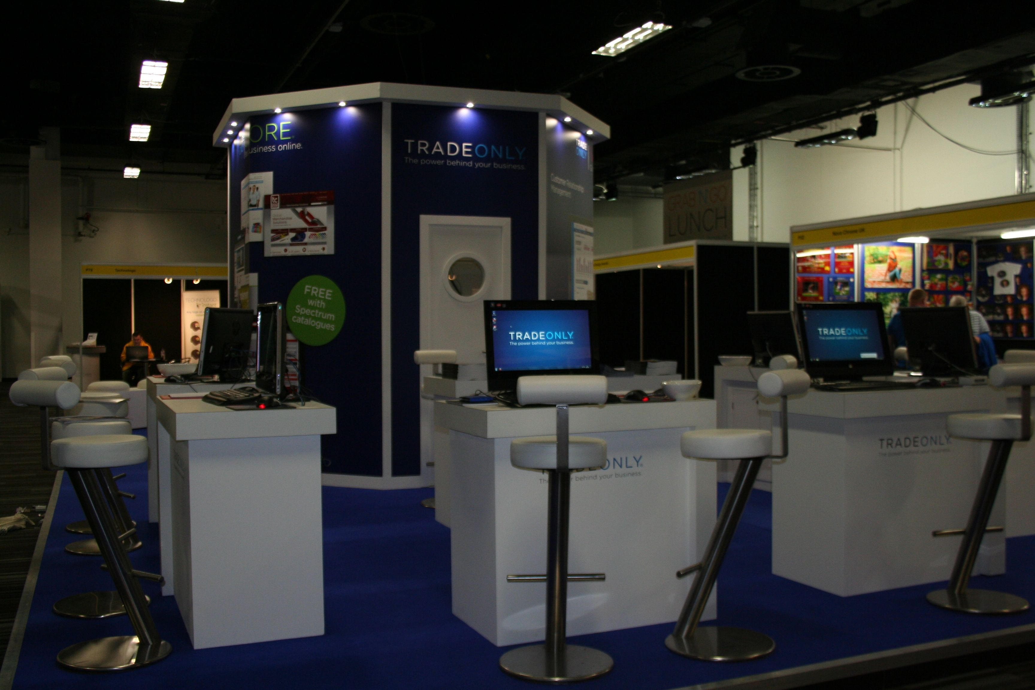 Exhibition Stand Organisers : Exhibition stand: stand designed built and installed for trade only