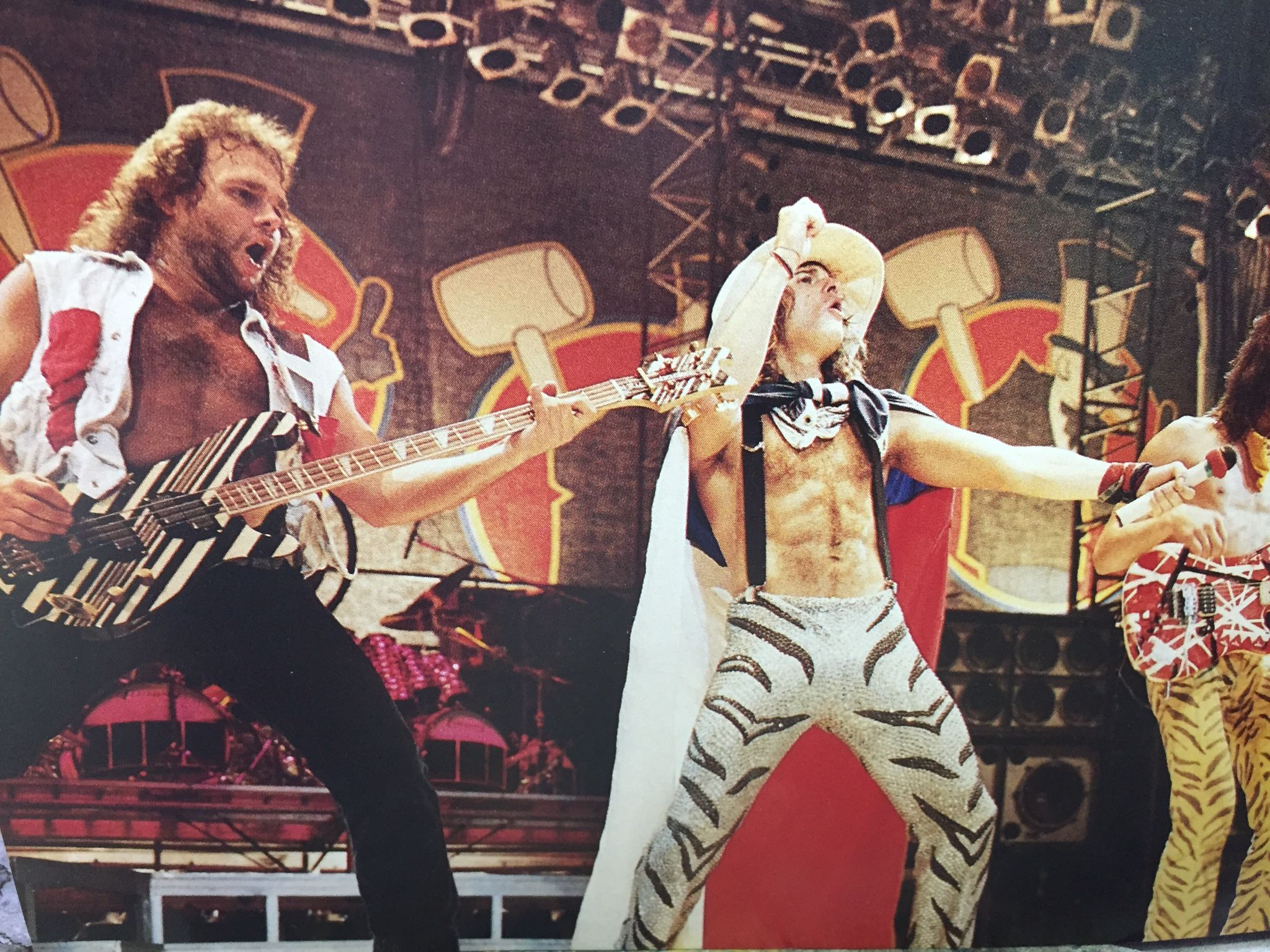 Pin By Andrew Elliott On Van Halen With Images Eddie Van Halen Van Halen David Lee Roth