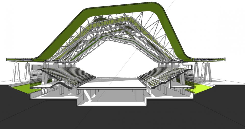Escenarios deportivos giancarlo mazzanti felipe mesa for Plan de arquitectura