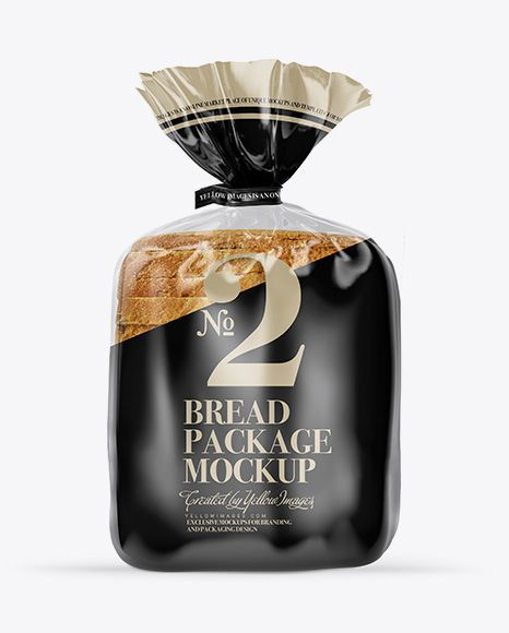 Download Bread Package With Clip Mockup In Packaging Mockups On Yellow Images Object Mockups Mockup Free Download Packaging Mockup Free Packaging Mockup