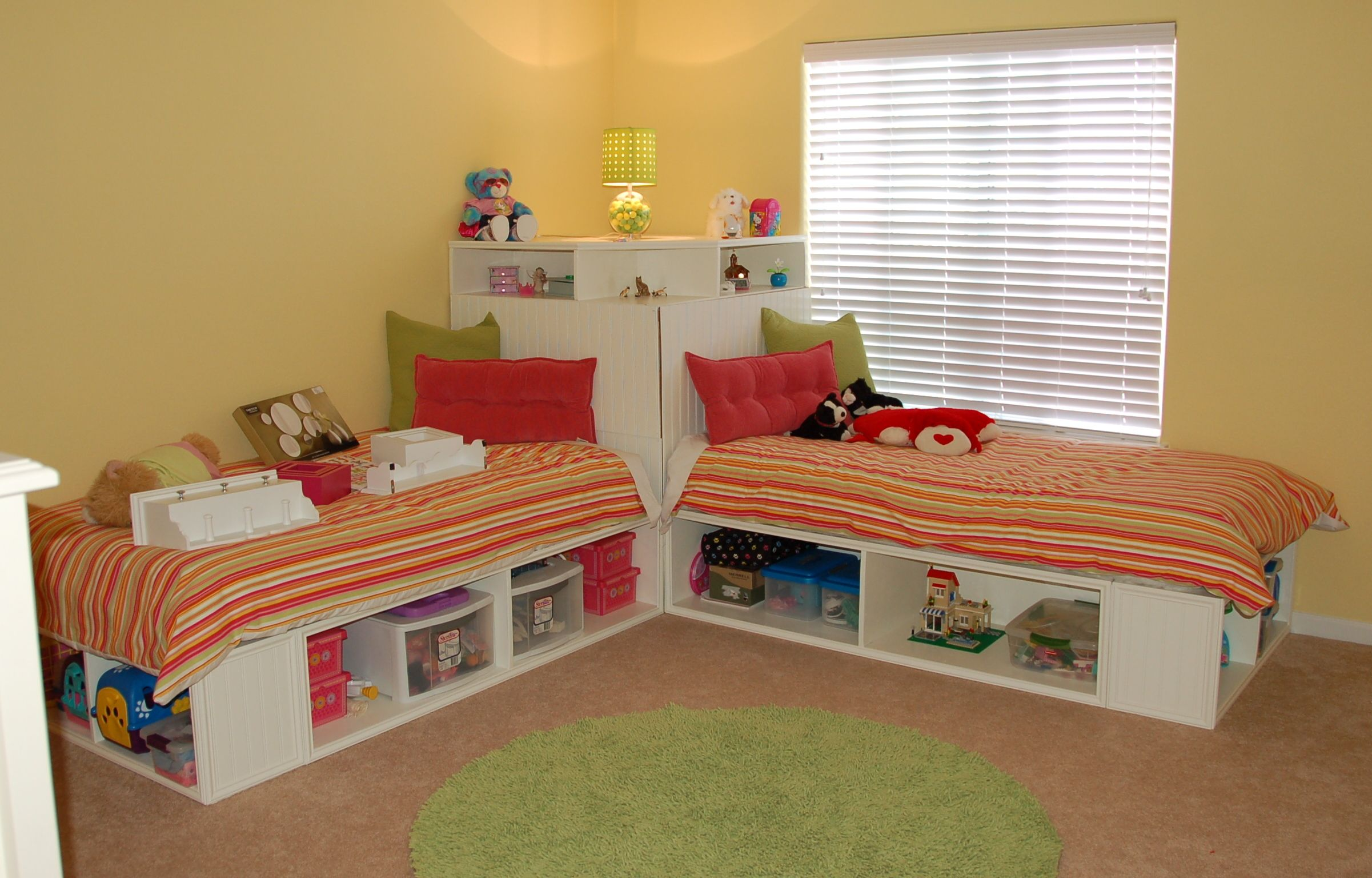 twin corner bed units Bing Images kiddos Pinterest