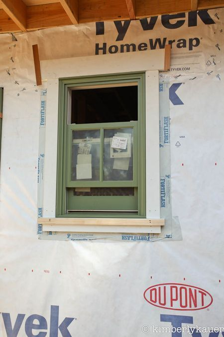 Exterior Window Trim rustic exterior window trim | here's how the sample window looked