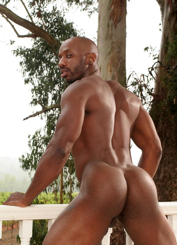 Black nude endowed men message