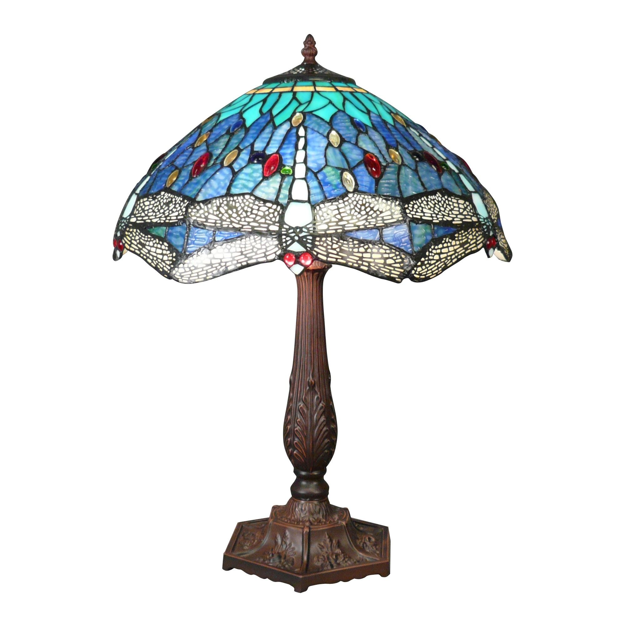 Blue Dragonfly Tiffany Lamp Tiffany Lamps Store Tiffany Lamps
