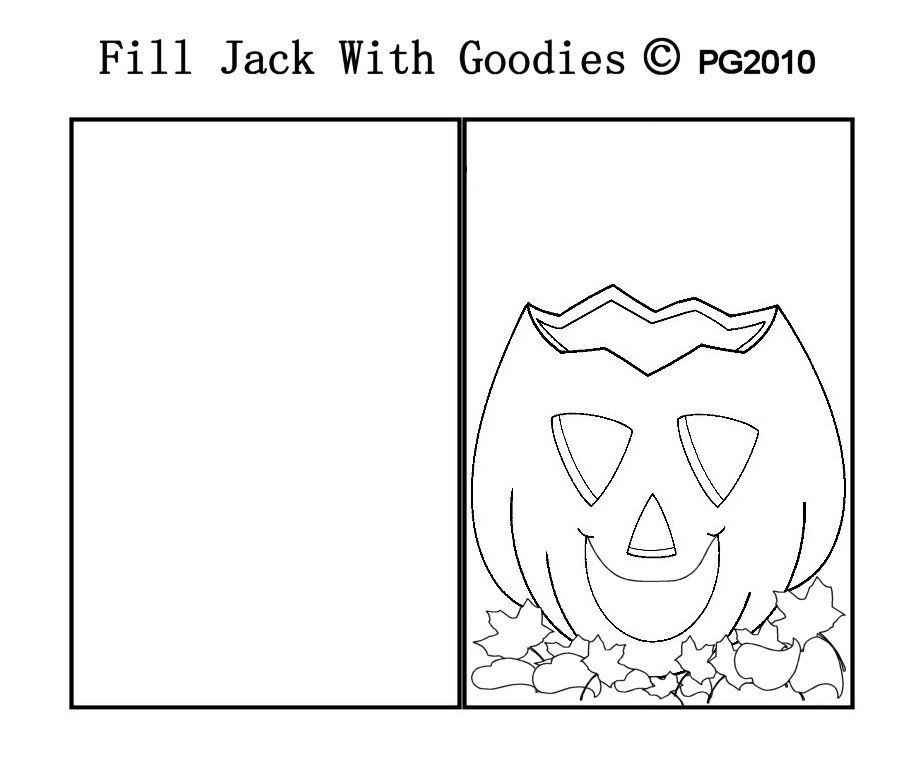 halloween card template i made paper craft themed card templates
