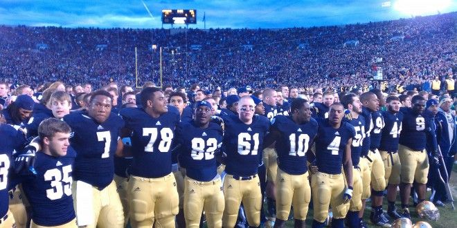 Notre Dame Football Hd Wallpapers Notre Dame Football Notre Dame University Notre Dame