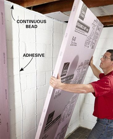 How To Finish A Basement Wall Basement Pinterest