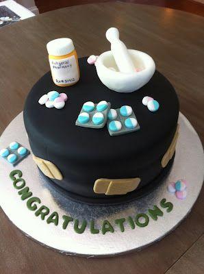 La Patisserie Rose Pharmacy Themed Graduation Cake Graduation Cakes Pharmacy Cake Medical Cake