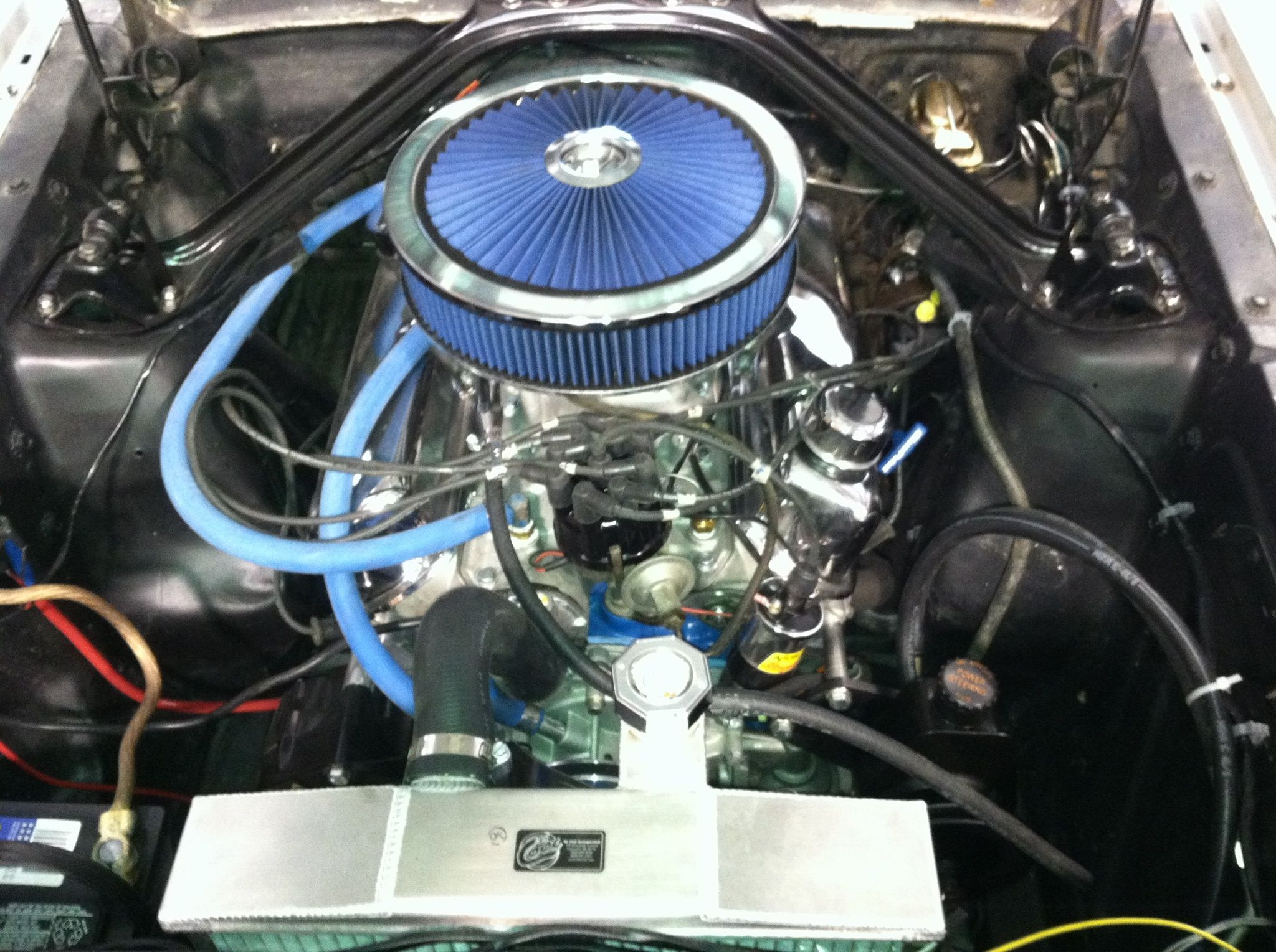 306ci crate engine small block ford style longblock aluminum blueprint engines customers james cassidy beierle have installed the bp3060ct into this 1965 ford mustang for more information on the full line of malvernweather Images