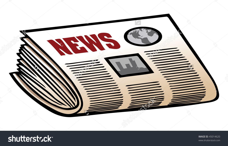StockVectorCartoonVectorIllustrationNewspaperJpg