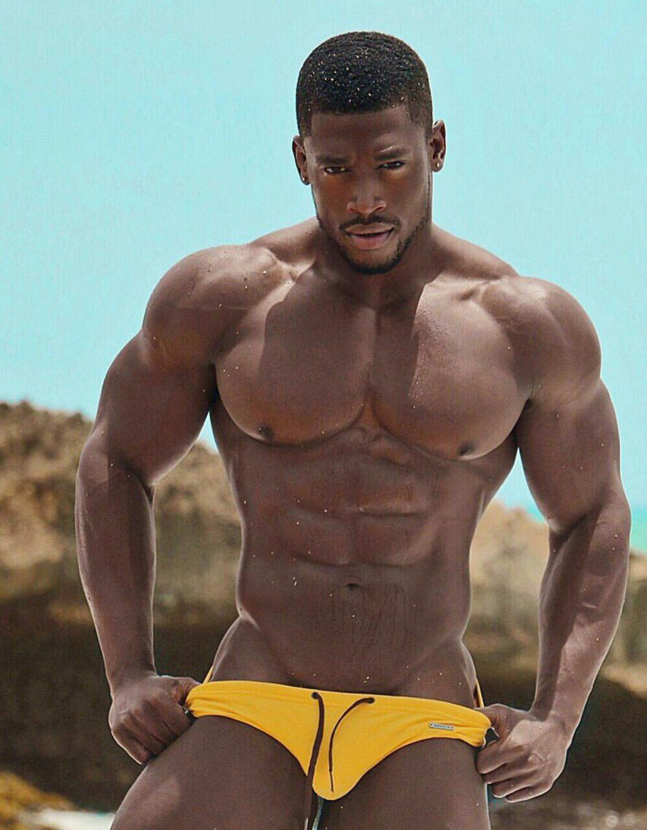 Xxx muscle black men — 4