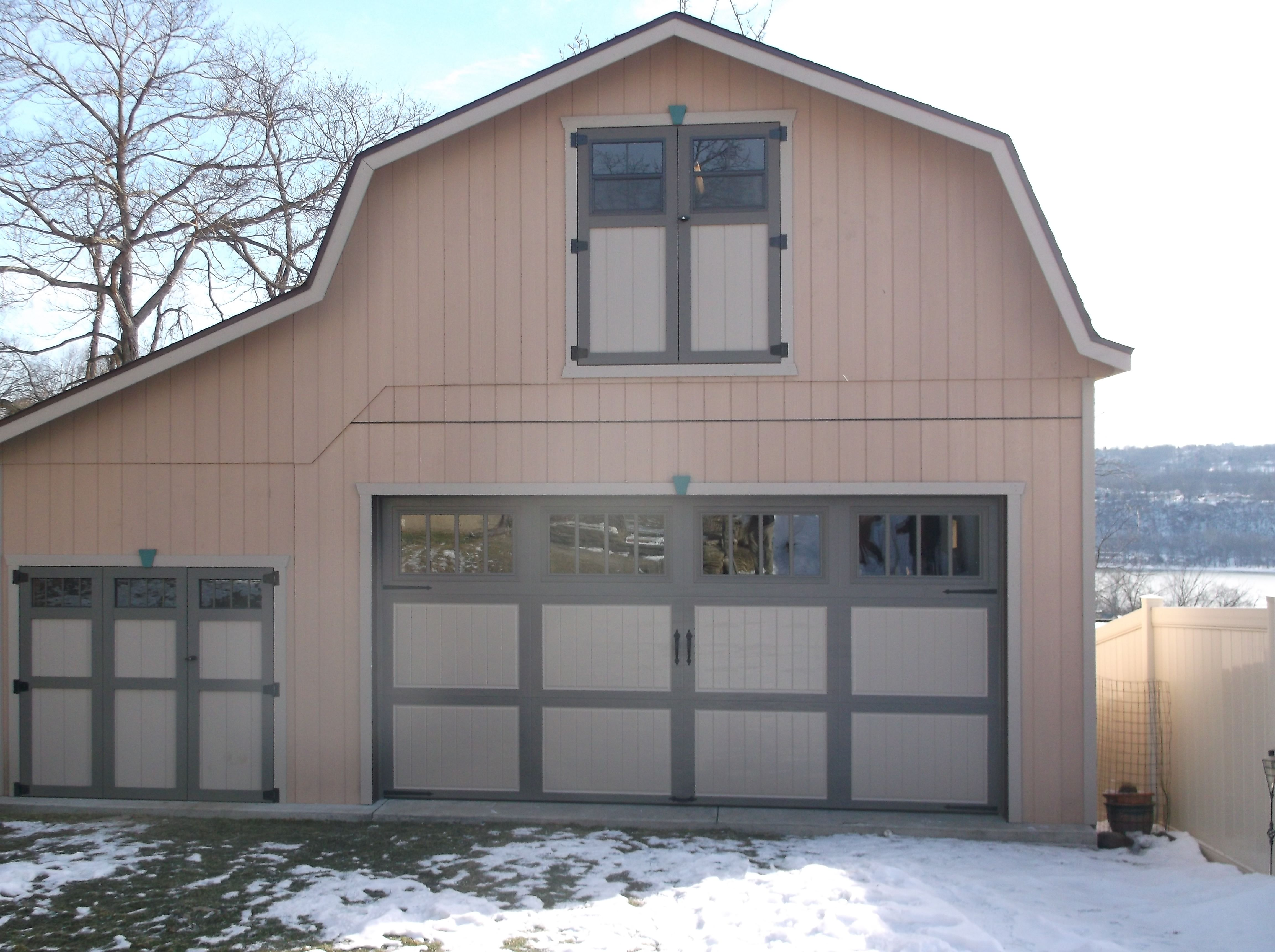 Amarr Classica 3000 Cortona Panel Garage Door In Two Tone. Installed By  Thomas V.