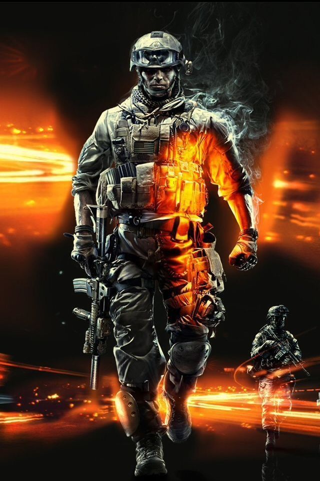 Soldier Powerful Picture American Soldiers Battlefield 3