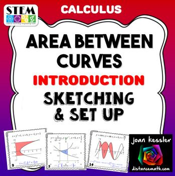 Calculus Area Between Curves Introduction Sketching And Set Upsbefore Students Even Start Determining The Area Between Cur Calculus Ap Calculus Ap Calculus Ab