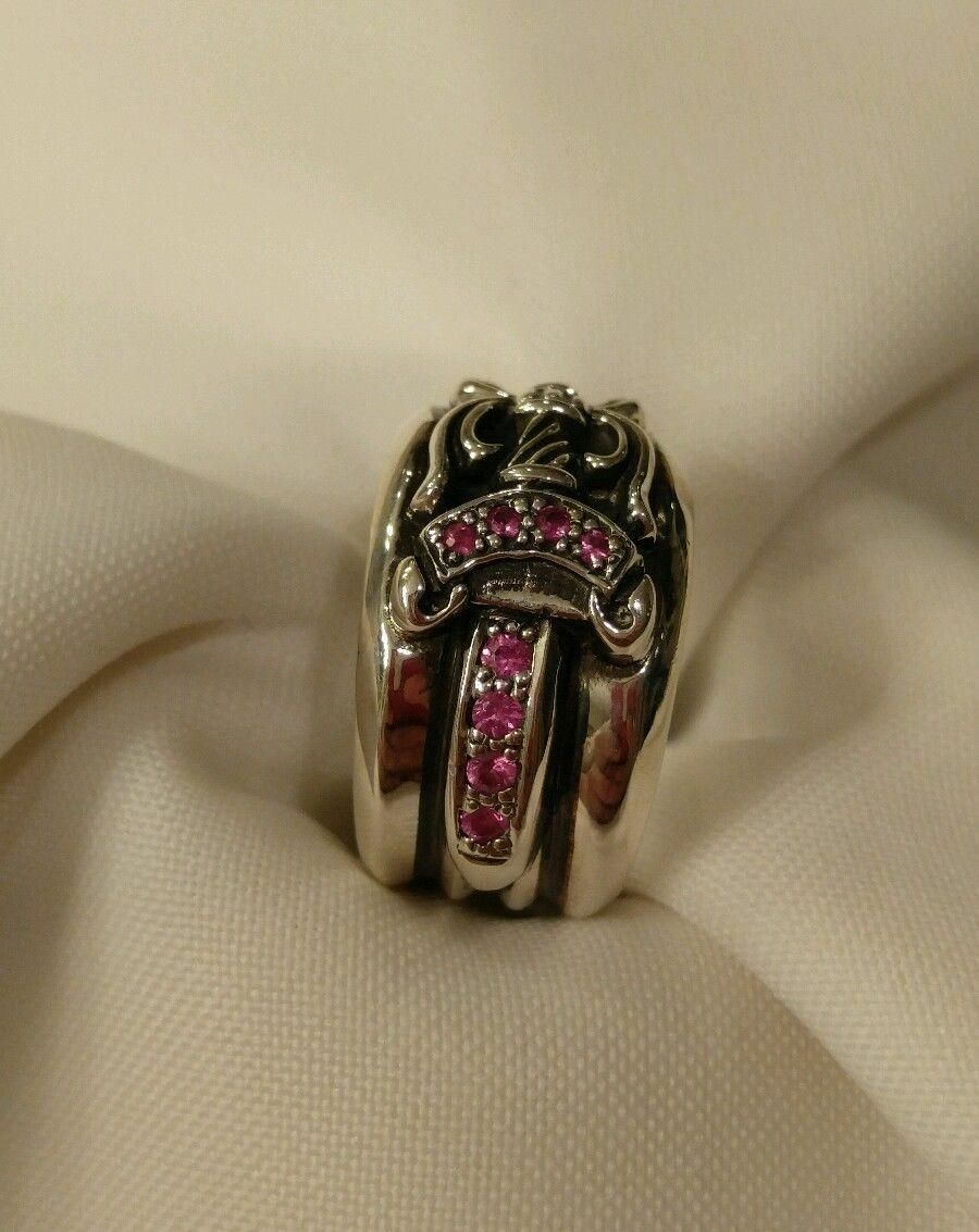 905a012bf03 chrome hearts pink sapphire ring. Free shipping and guaranteed authenticity  on…