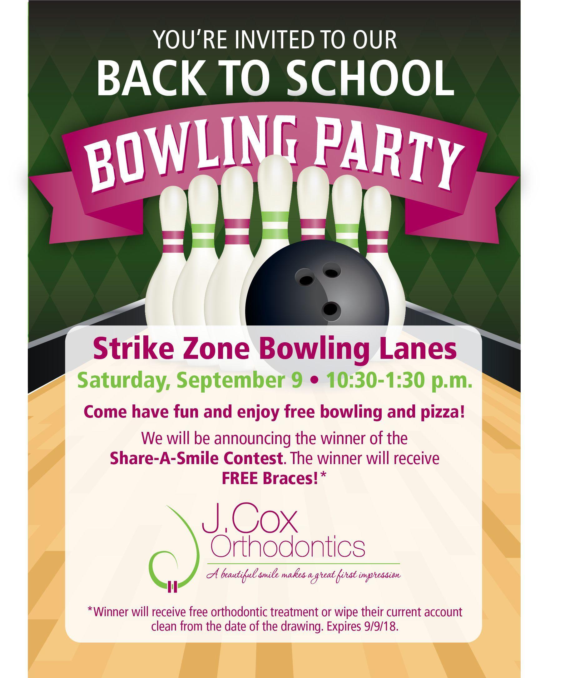 Einladungen geburtstag kostenlos ausdrucken bowling