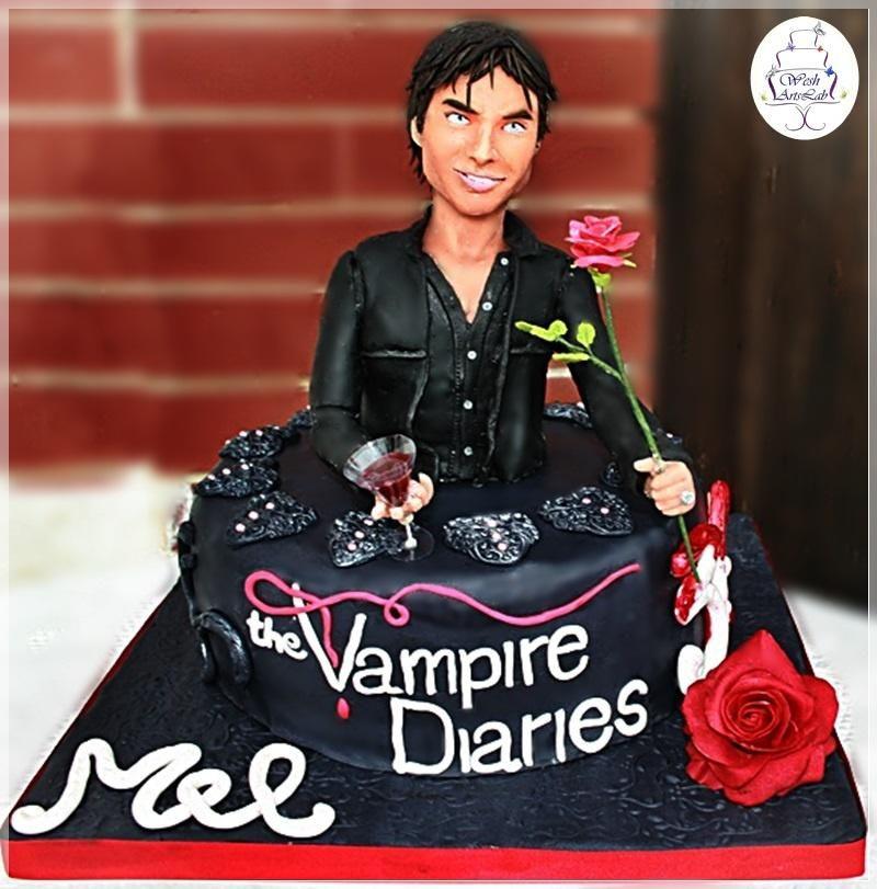 The Vampire Diaries Cake Damon Cake Ideas Pinterest Damon
