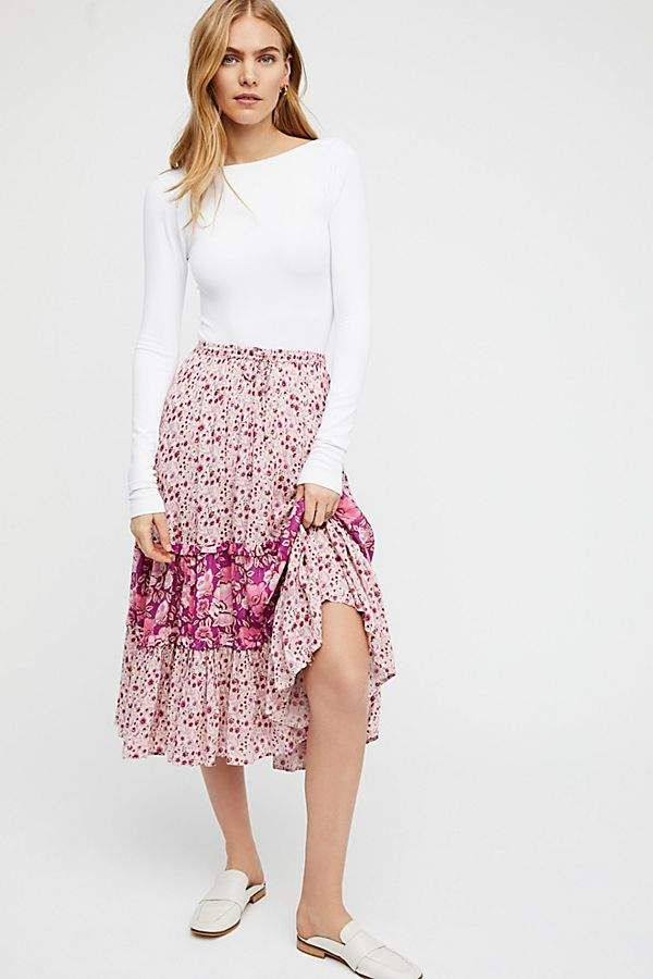 93fc4641fe2 Spell And The Gypsy Collective Winona Midi Skirt