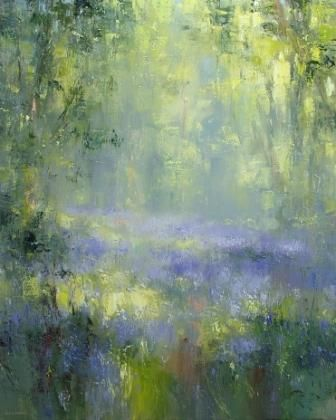 Lavender Haze Impressionist Art Abstract Painting Art Painting