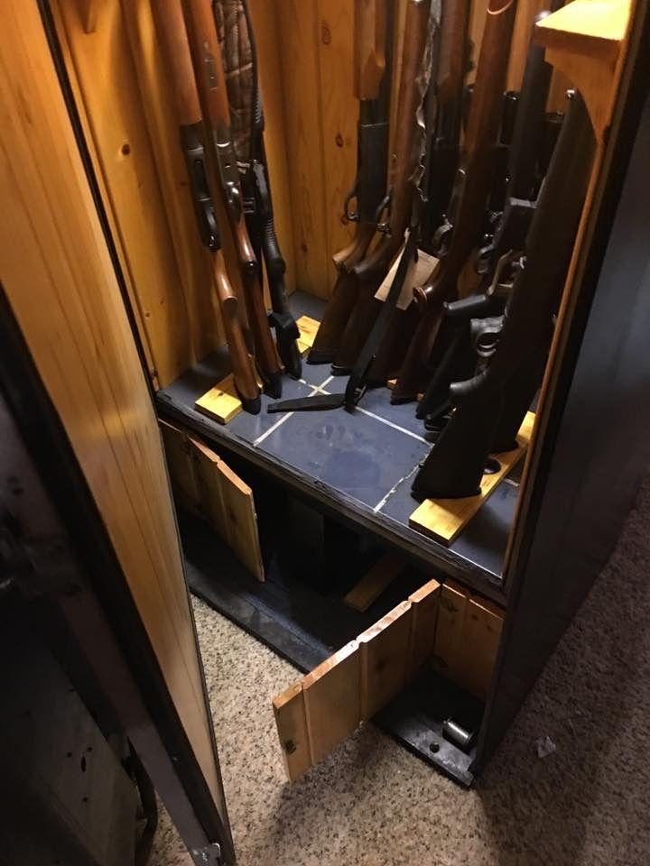 Pop machine gun case.