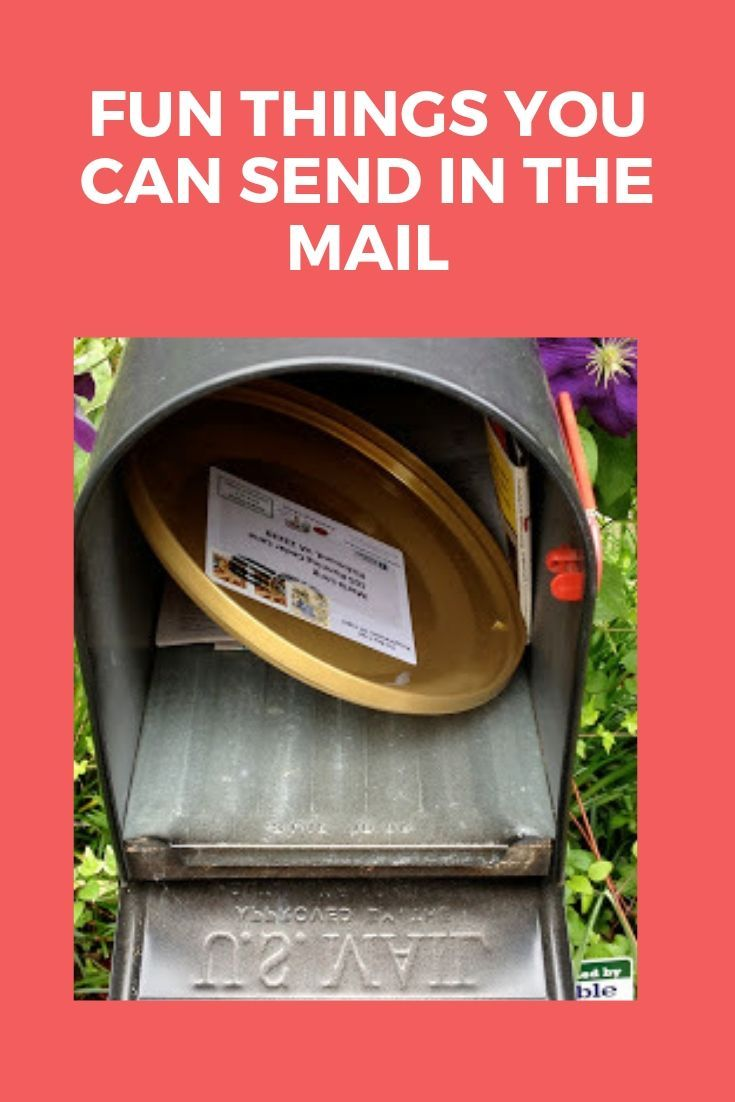 7 fun things to send in the mail no packaging needed