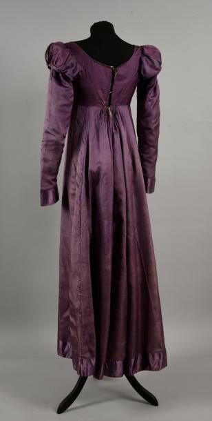 Robe en soie habillee