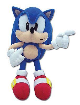 Sonic the Hedgehog SUPER SONIC PLUSH 12-inch Plush NEW AUTHENTIC
