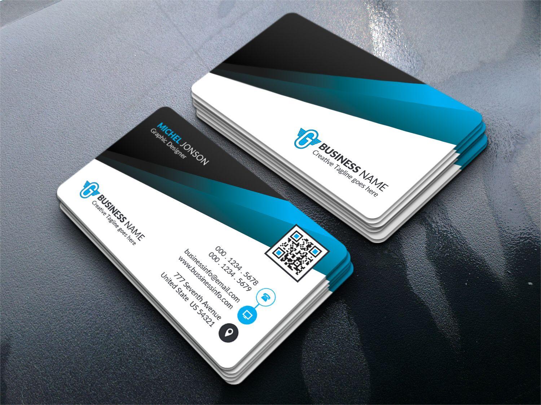 corporate business card corporate identity template 73760