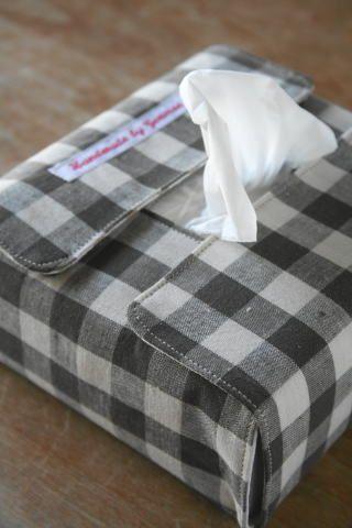 エコティッシュケースの作り方 Genoise Sewing Crafts Diy Fabric Tissue Box Covers
