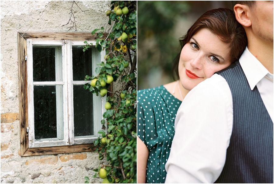 Siegrid Cain Love engagement autumn Austria analogue
