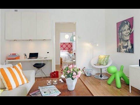 Decorar casas pequeñas con poco dinero - YouTube ESPACIOS TXIKIS