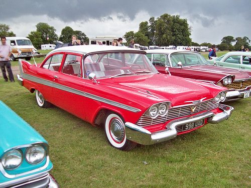 1958 Plymouth Fury | Vintage | Old classic cars, Cars